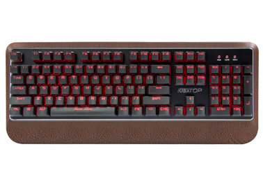 BST-832 Semi-mechanical keyboard with real mechanical touch feeling